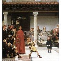 The Education Of Children Clovis, Detail By Alma-Tadema - Fine Art Print