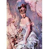 The Actress Alice Regnault By Giovanni Boldini - Fine Art Print