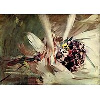 The Pansy By Giovanni Boldini - Canvas Art Print