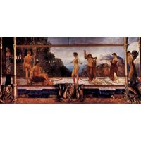 The Judgement Of Paris By Max Klinger - Fine Art Print