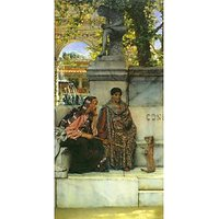 At The Time Of Constantine By Alma-Tadema - Fine Art Print