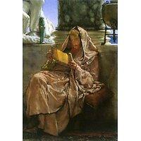 Prosa By Alma-Tadema - Canvas Art Print