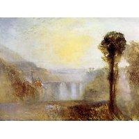 Ponte Delle Torri, Spoleto By Joseph Mallord Turner - Canvas Art Print