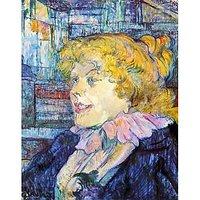 Portrait Of Miss Dolly By Toulouse-Lautrec - Fine Art Print