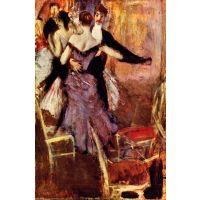 Ballerina In Mauve By Giovanni Boldini - Fine Art Print