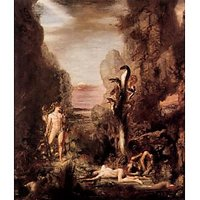 Hercules And The Hydra By  Gustave Moreau - Fine Art Print