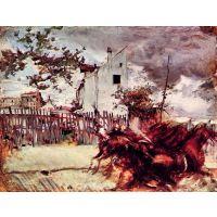 Outskirts Of Paris By Giovanni Boldini - Canvas Art Print