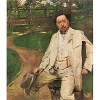Portrait Of The Pianist Conrad Ansorge By Lovis Corinth - Fine Art Print