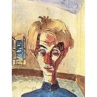 Self Portrait In A Room By Walter Gramatte - Fine Art Print