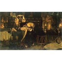 The Death Of The First Born By Alma-Tadema - Fine Art Print