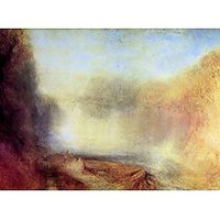 Falls Of The Clyde By Joseph Mallord Turner - Fine Art Print