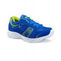 Quantus Blue & Green Sports Shoes