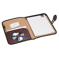 Trio C600A Conference Stylish File With Pad A4 (Set Of 2, Brown)