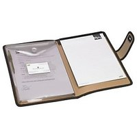 Trio C650 Conference File With Pad & Envelope Pocket A4 (Set Of 2, Brown)