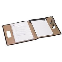 Trio C700 Conference Carry File With Pad A4 (Set Of 2, Brown)