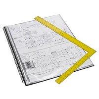 Trio SDB20A2 Spiral Designers Display File 20 Pockets A2 (Set Of 1, Black)