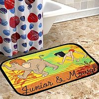 Disney Sparkk Home Exclusive Junior And Mongli Printed Doormat