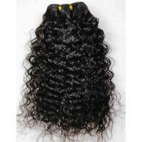 LeModish Natural Curly Remy Hair 20 Inches Natural Black 1B