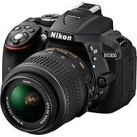 Nikon DSLR D5300 With AF-S 18-140mm VR Kit Lens