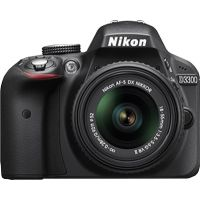 Nikon DSLR D3300 With AF-S 18-55 Mm VR Kit Lens