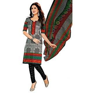 Bansal Collection Premium Quality Cotton Printed Unstitched Suit With Dupatta
