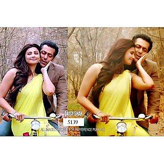 Bollywood Special Replica Saree Jai Ho Lime Yellow