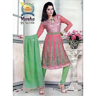 Varsha Cotton Designer Unstitched Suit With Dupatta (D.N.2308)