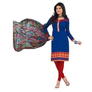 New Indian Designer Beautiful Salwar Suit With Shiffon Dupatta 148D6016