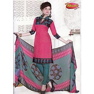 Hot Choice Casual Wear Unstitched Suit With Dupatta (D.N.179)