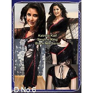 Katrina Kaif Singh Is King Bollywood Replica Saree