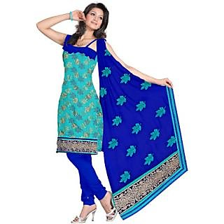 Light Green Isha Jacquard Self Design Salwar Suit Dupatta Material