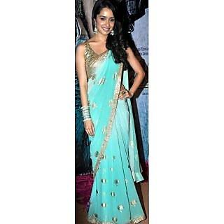 Bollywood Saree Shrada Kapoor Aashiqui 2 Saree