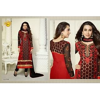Gorgeous Designer Georgette Long Length Straight Suits-5126