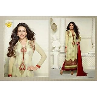 Gorgeous Designer Georgette Long Length Straight Suits-5127