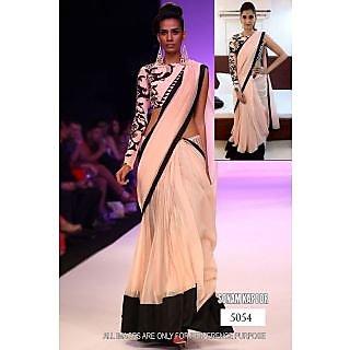 Bollywood Replica Saree Of Sonam Kapoor Cream