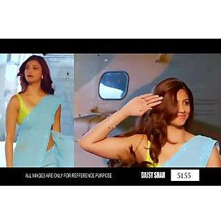 Bollywood Special Replica Saree Jai Ho Sky Blue