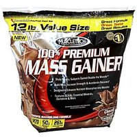 Muscle Tech 100% Mass Gainer Chocolate 12Lbs