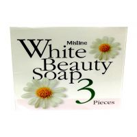 Mistine White Beauty Soap . 3Pieces Skin Whitening & Fairness Soap - 74919508