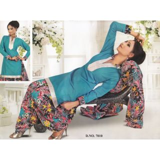 Rajkala Fashion Casual Wear Unstitched Suit With Dupatta (7010)