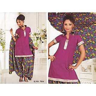 Rajkala Fashion Casual Wear Unstitched Suit With Dupatta (7016)