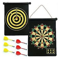 Roll Up Magnetic Dart Board Game