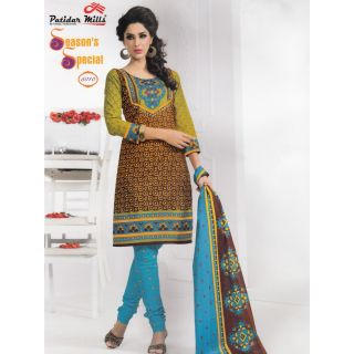 Season's Special Casual Wear Unstitched Suit With Dupatta (5010)