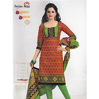Season's Special Casual Wear Unstitched Suit With Dupatta (5032)