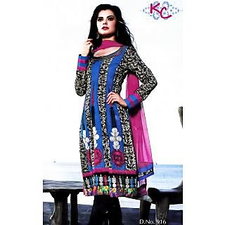 KC Party Wear Unstitched Suit With Dupatta (D.No.916)