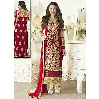 Gorgeous Designer Georgette Long Length Straight Suits-5103