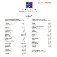 Davisco Biozate Whey Protein Hydrolysate 1 Kg (Unflavored)
