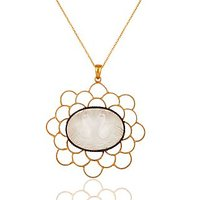 Tanishi Sterling Silver 925 Pendant With Chain