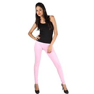 New Trend Cotton Light Pink Leggings