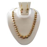 Shree Balaji Jewels Copper Mattel Necklace Set