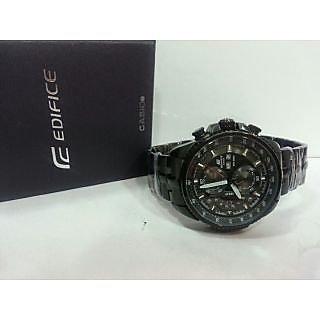 Casio Edifice Black Colour Watch For Men